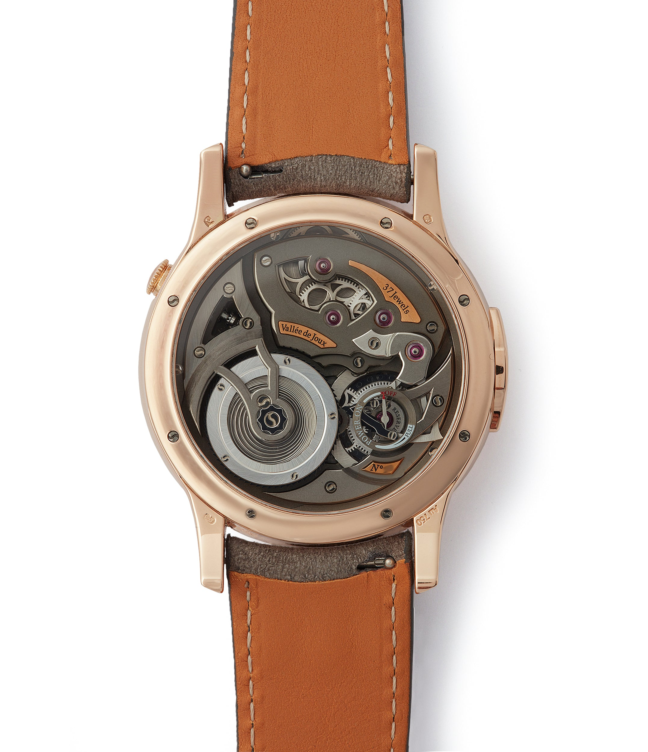 pink gold Romain Gauthier Logical One red gold dress watch by independent watchmaker for sale online at A Collected Man London UK specialist of rare watches