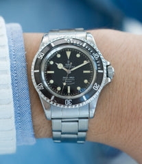 for sale vintage Tudor Submariner 7928 Oyster Prince Cal. 390 automatic sport watch at A Collected Man London online vintage watch specialist UK