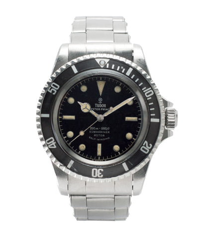 buy vintage Tudor Submariner 7928 Oyster Prince Cal. 390 automatic sport watch at A Collected Man London online vintage watch specialist UK