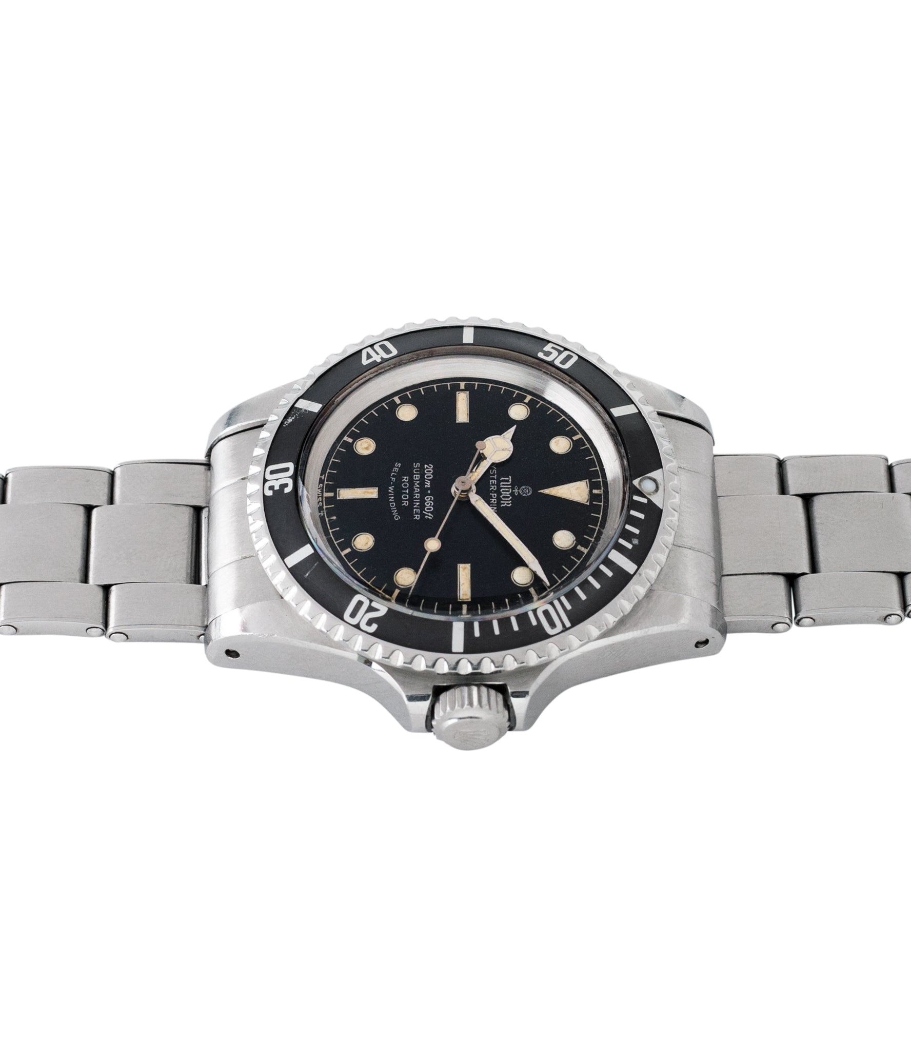 Tudor Submariner 7928 Oyster Prince Cal. 390 automatic sport watch at A Collected Man London online vintage watch specialist UK