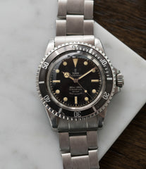 selling vintage Tudor Submariner 7928 Oyster Prince Cal. 390 automatic sport watch at A Collected Man London online vintage watch specialist UK