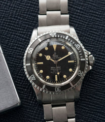 vintage Tudor Submariner 7928 Oyster Prince Cal. 390 automatic sport watch at A Collected Man London online vintage watch specialist UK