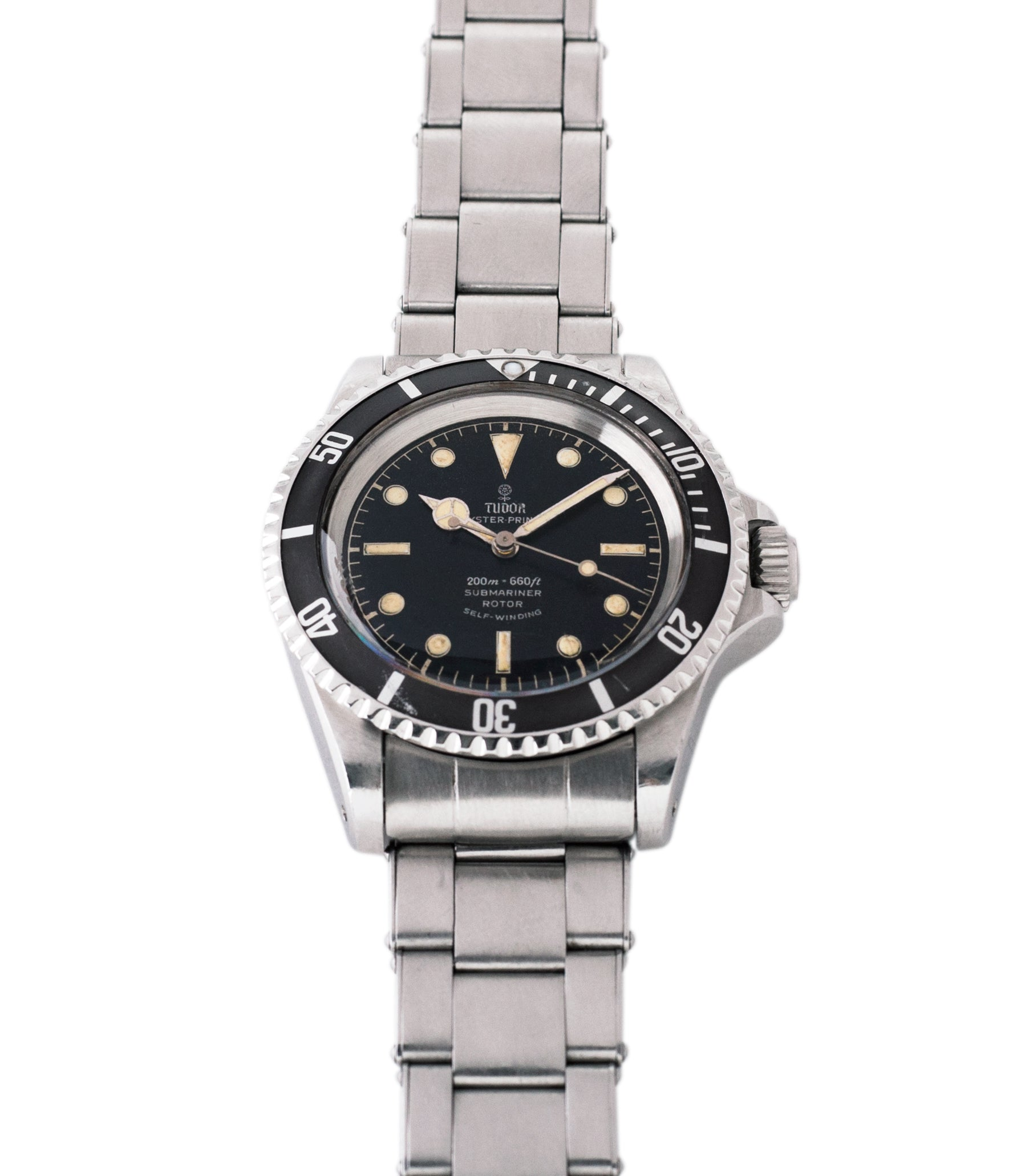 Submariner 7928 Tudor Oyster Prince Cal. 390 automatic sport watch at A Collected Man London online vintage watch specialist UK