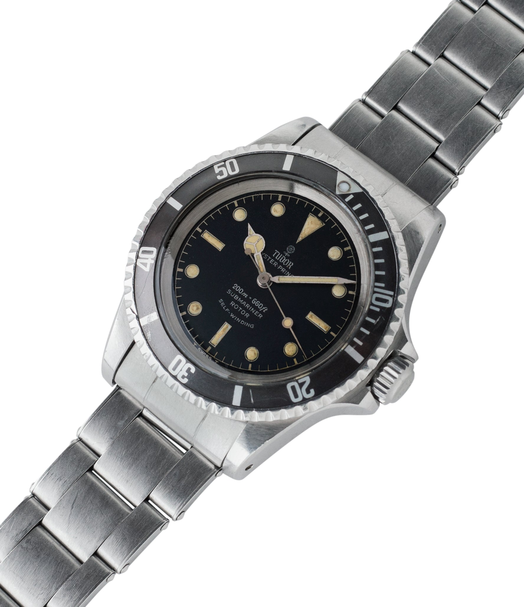 shop Tudor Submariner 7928 Oyster Prince Cal. 390 automatic sport watch at A Collected Man London online vintage watch specialist UK