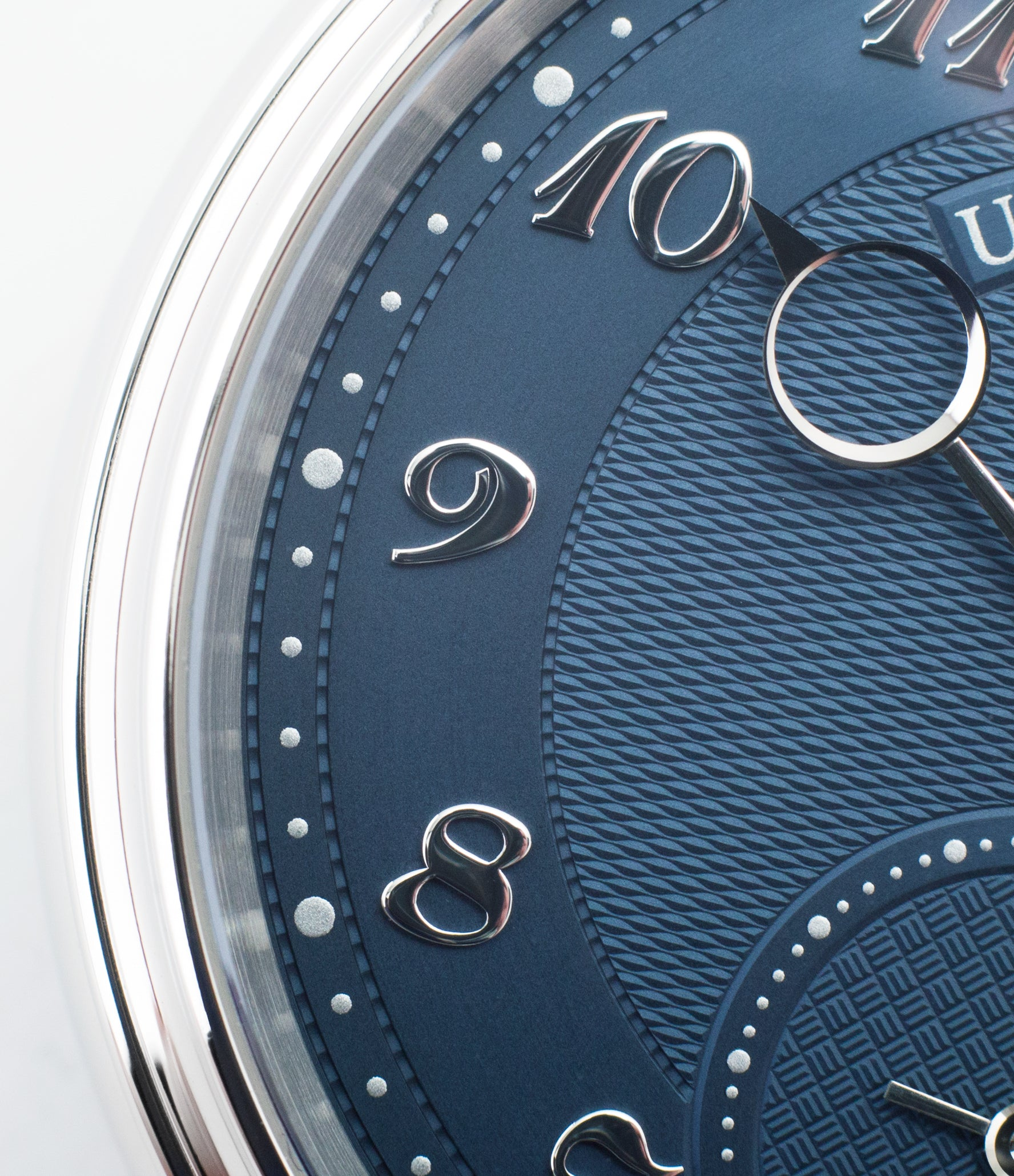 Urban Jurgensen shop 1140 PT Blue dial watch online at A Collected Man London independent watchmaker specialist authorised retailer in the UK