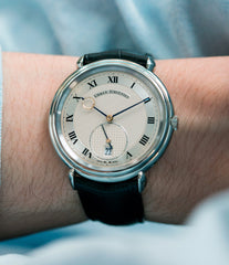 shop Urban Jurgensen Big8 steel watch online at A Collected Man London specialist retailer of independent watchmakers