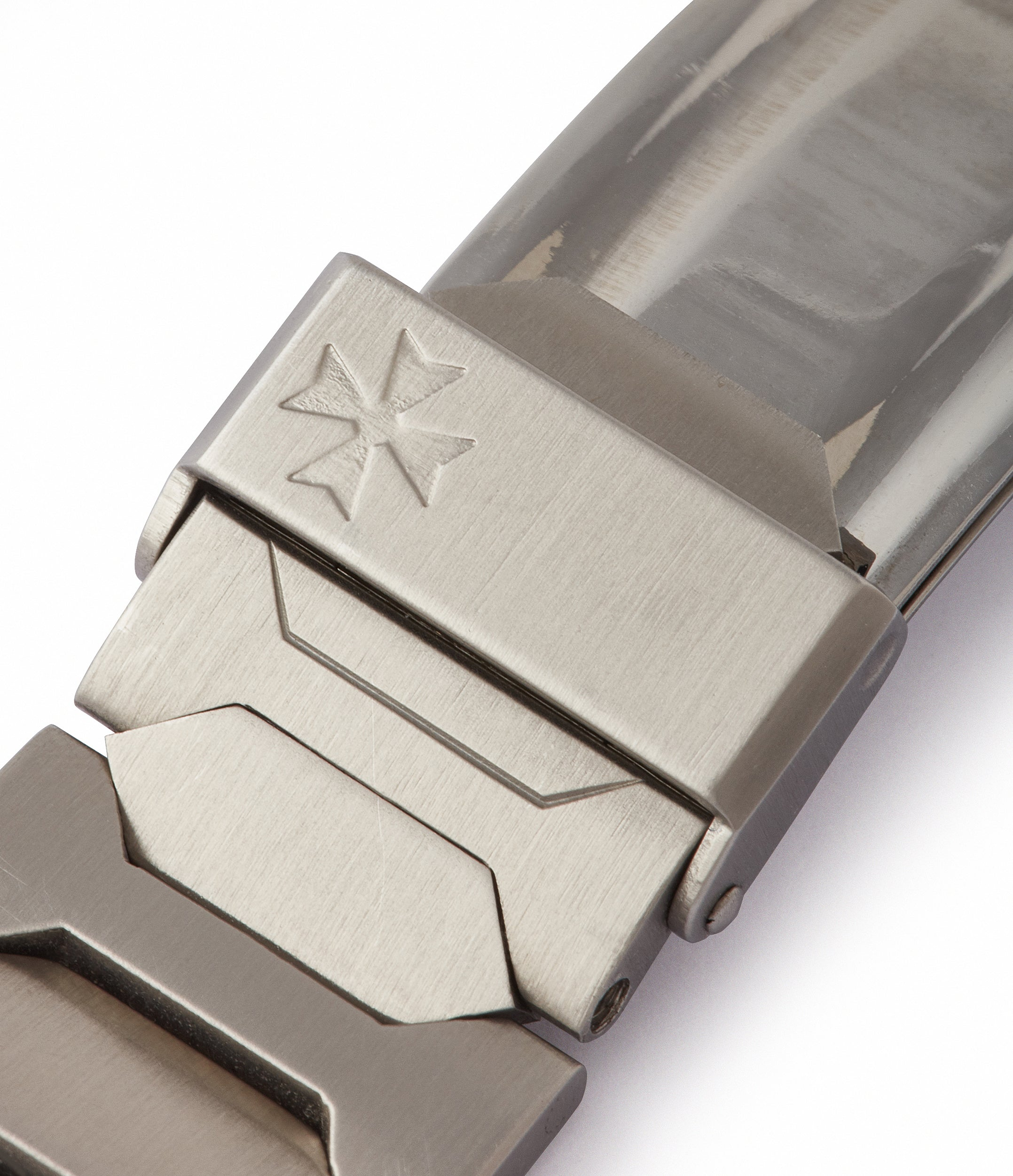 steel Vacheron Constantin bracelet 222 vintage steel grey dial sport watch for sale online at A Collected Man London UK specialist of rare watches