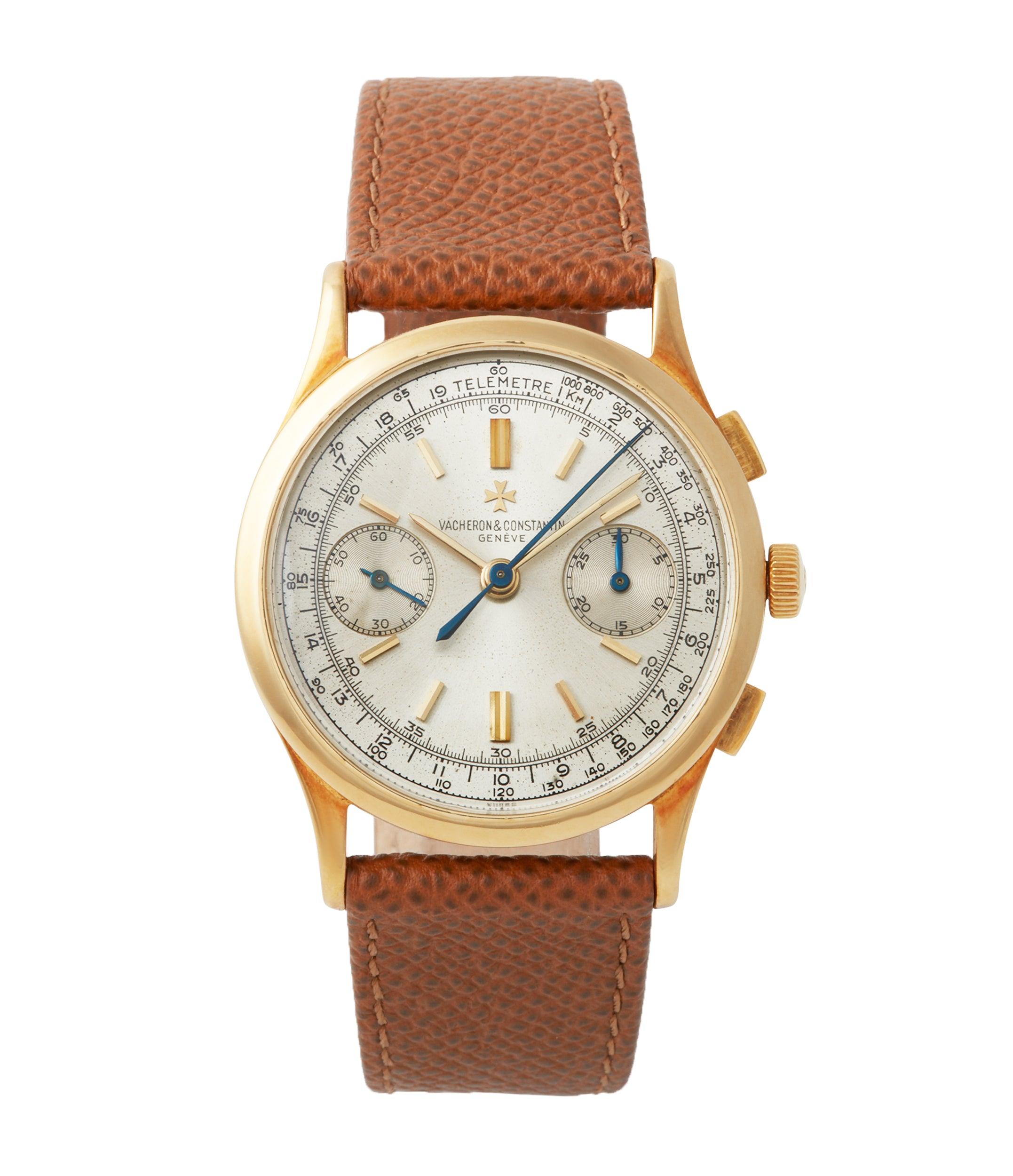 buy Vacheron Constantin Chronograph Ref. 4072 yellow gold rare vintage dress watch for sale A Collected Man London British specialist rare watches