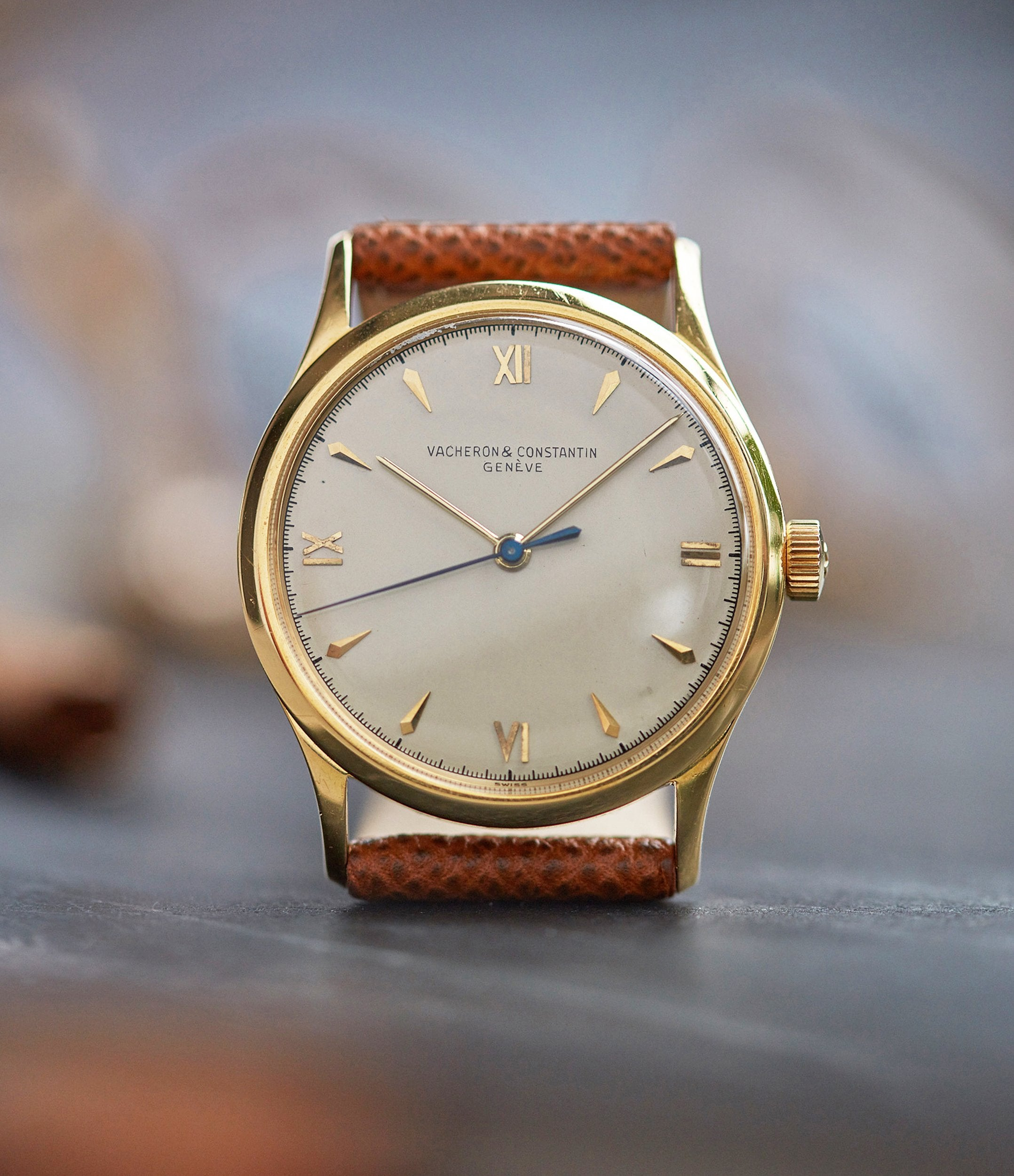 Vacheron Constantin Ref. 4127 vintage time-only yellow gold dress watch for sale online A Collected Man London UK specialist rare watches