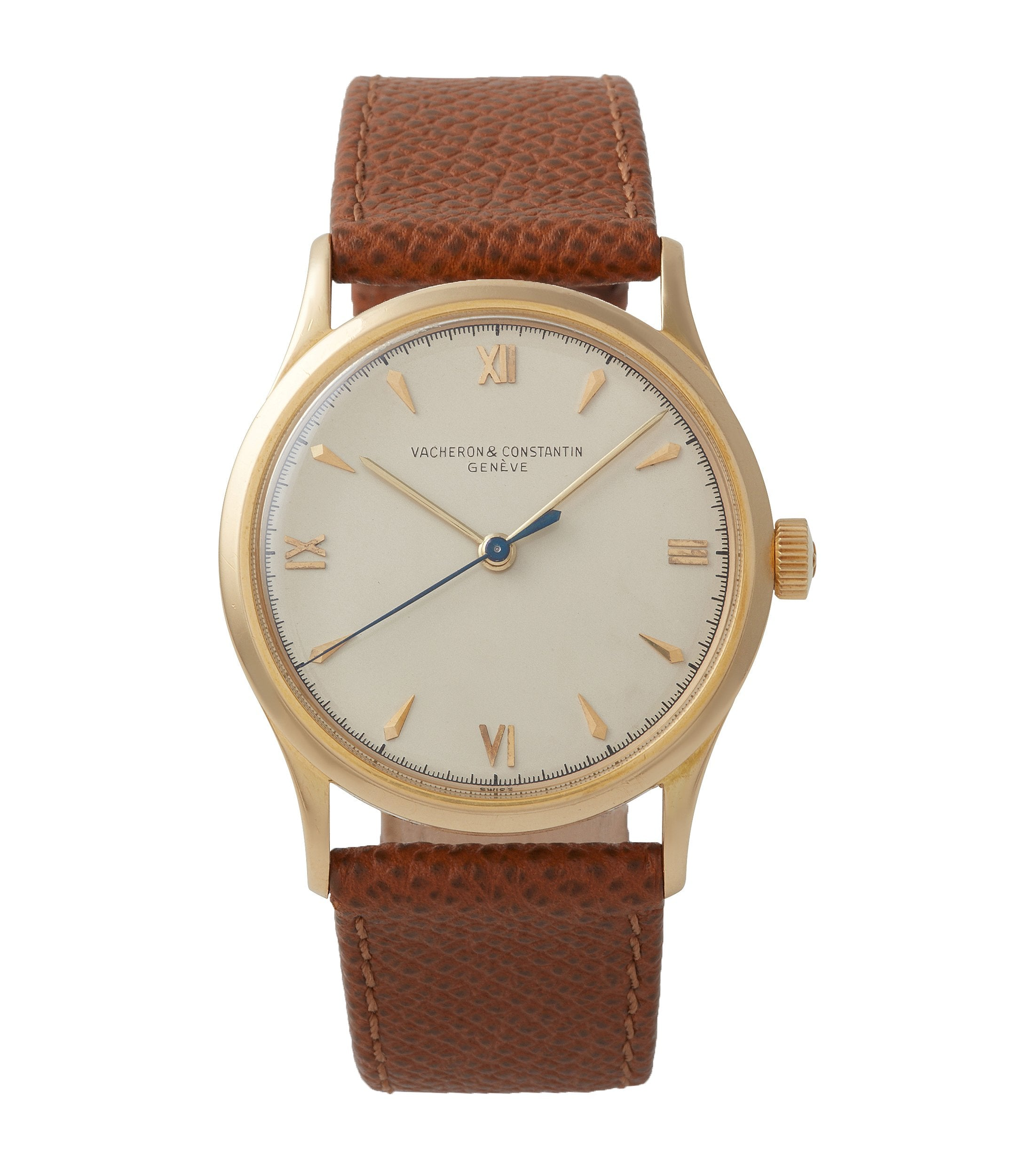 Roman numerals Vacheron Constantin Ref. 4127 vintage time-only yellow gold dress watch for sale online A Collected Man London UK specialist rare watches