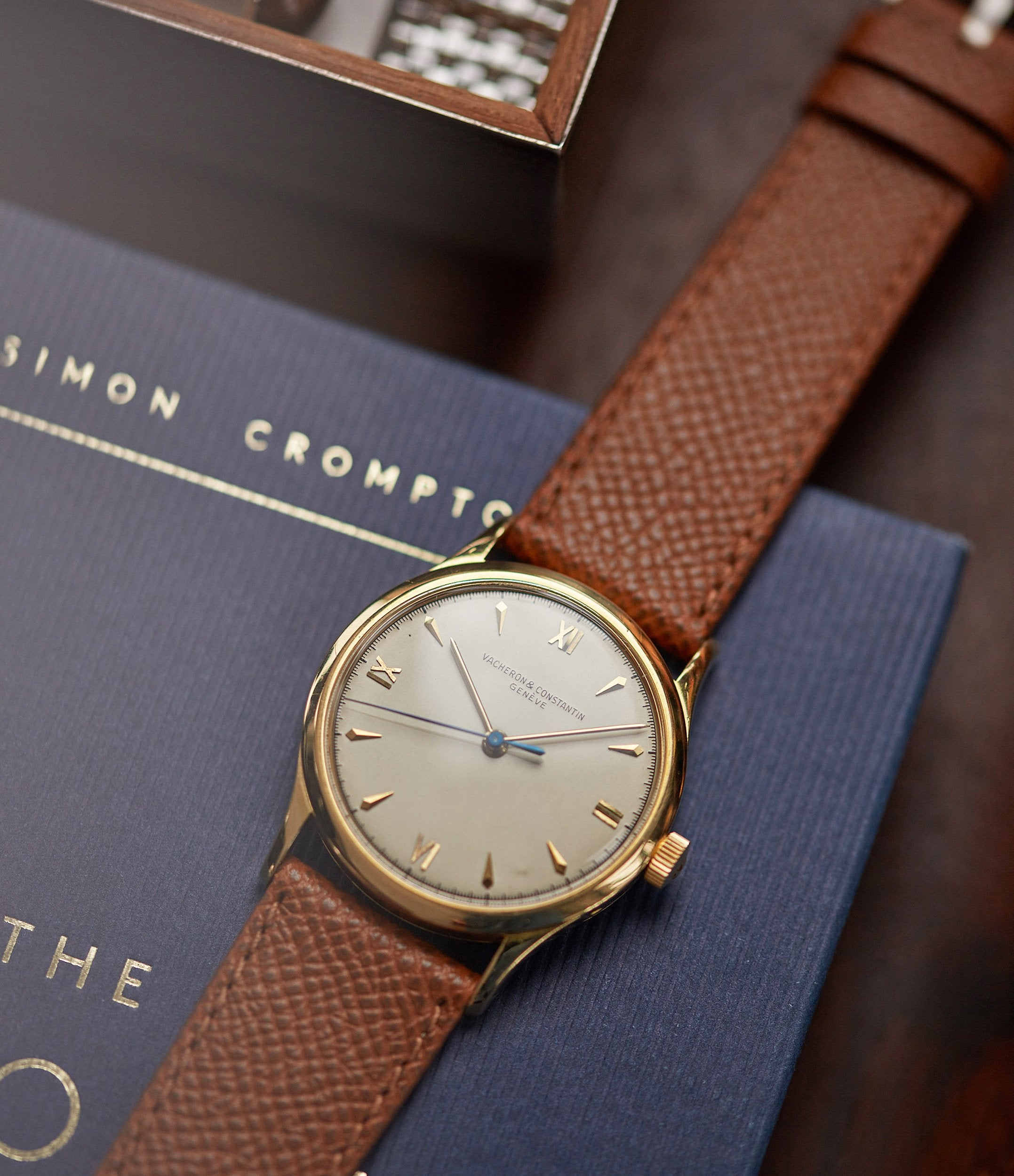 selling Vacheron Constantin Ref. 4127 vintage time-only yellow gold dress watch for sale online A Collected Man London UK specialist rare watches
