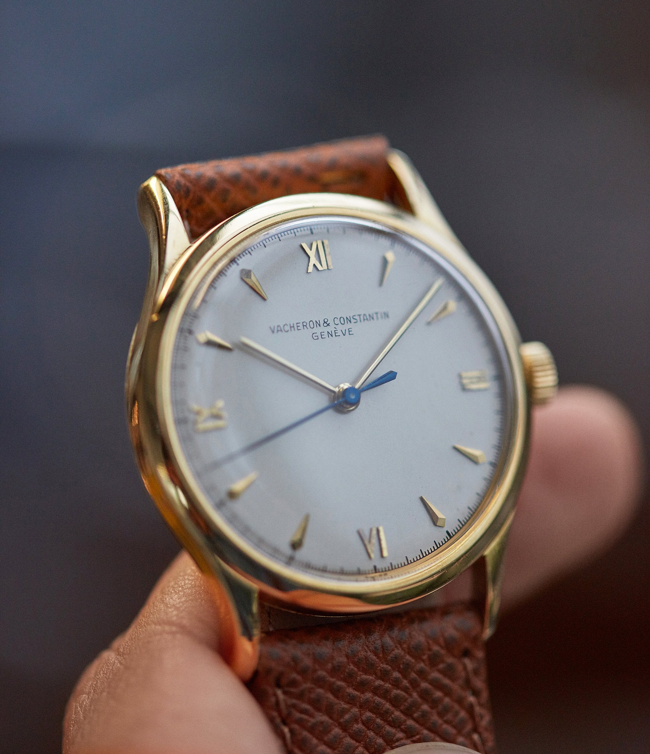 Vacheron time-only vintage Ref. 4127 yellow gold dress watch for sale online A Collected Man London UK specialist rare watches