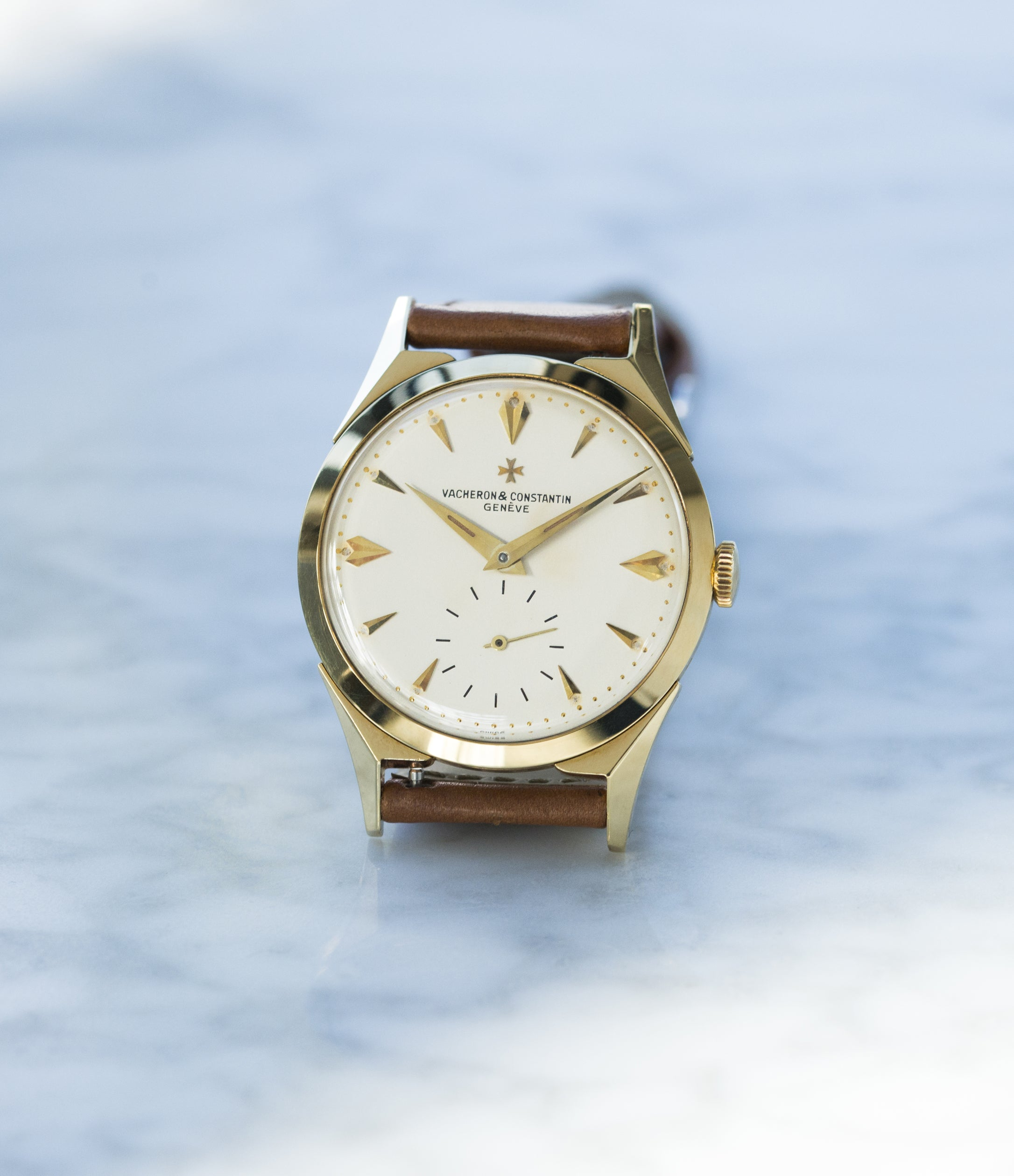 buying Vacheron Constantin 6066 yellow gold time-only dress watch for sale online at A Collected Man London UK specialist of rare watches