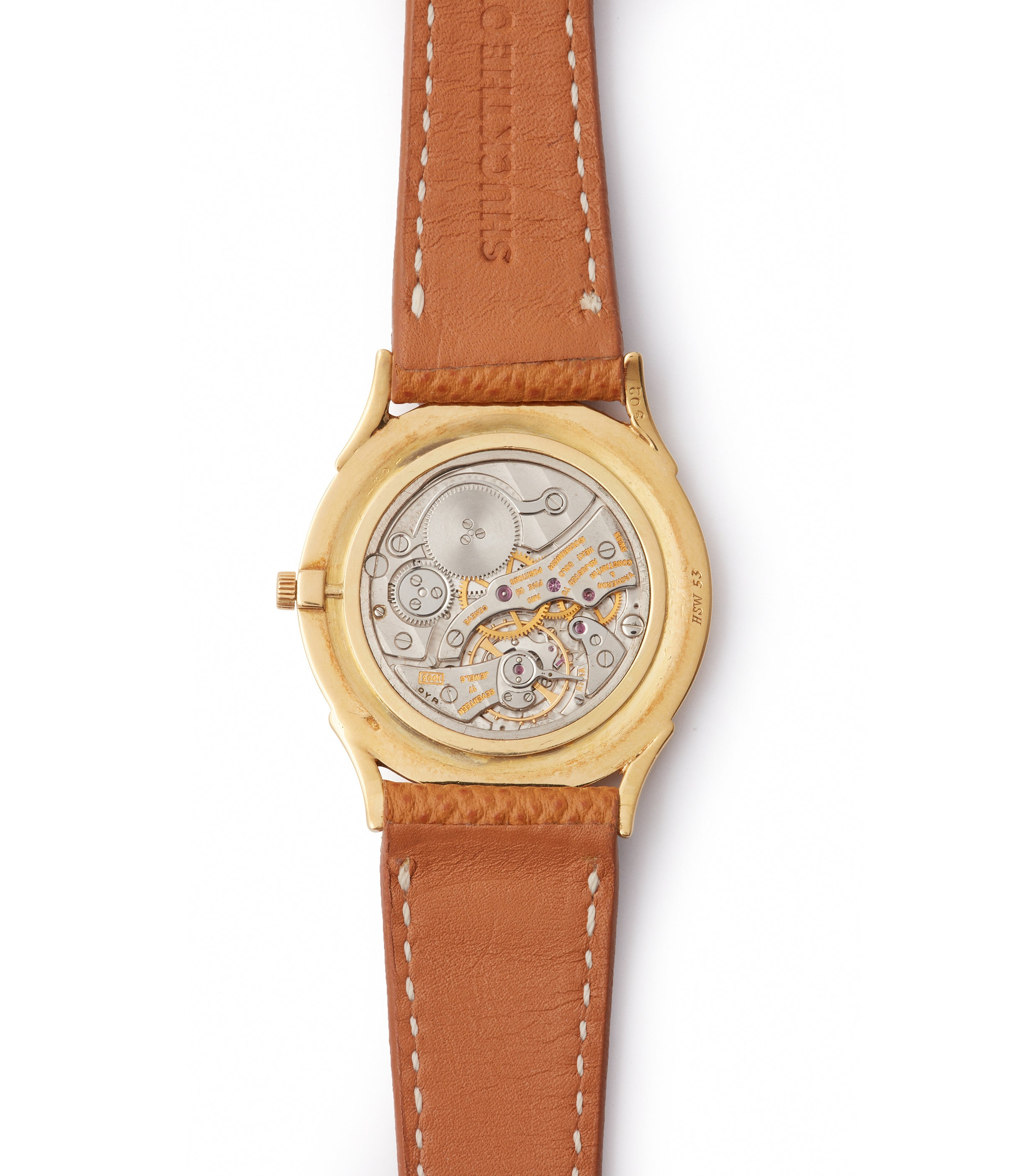 Cartier-signed Ref. 6194 | time-only | Yellow Gold