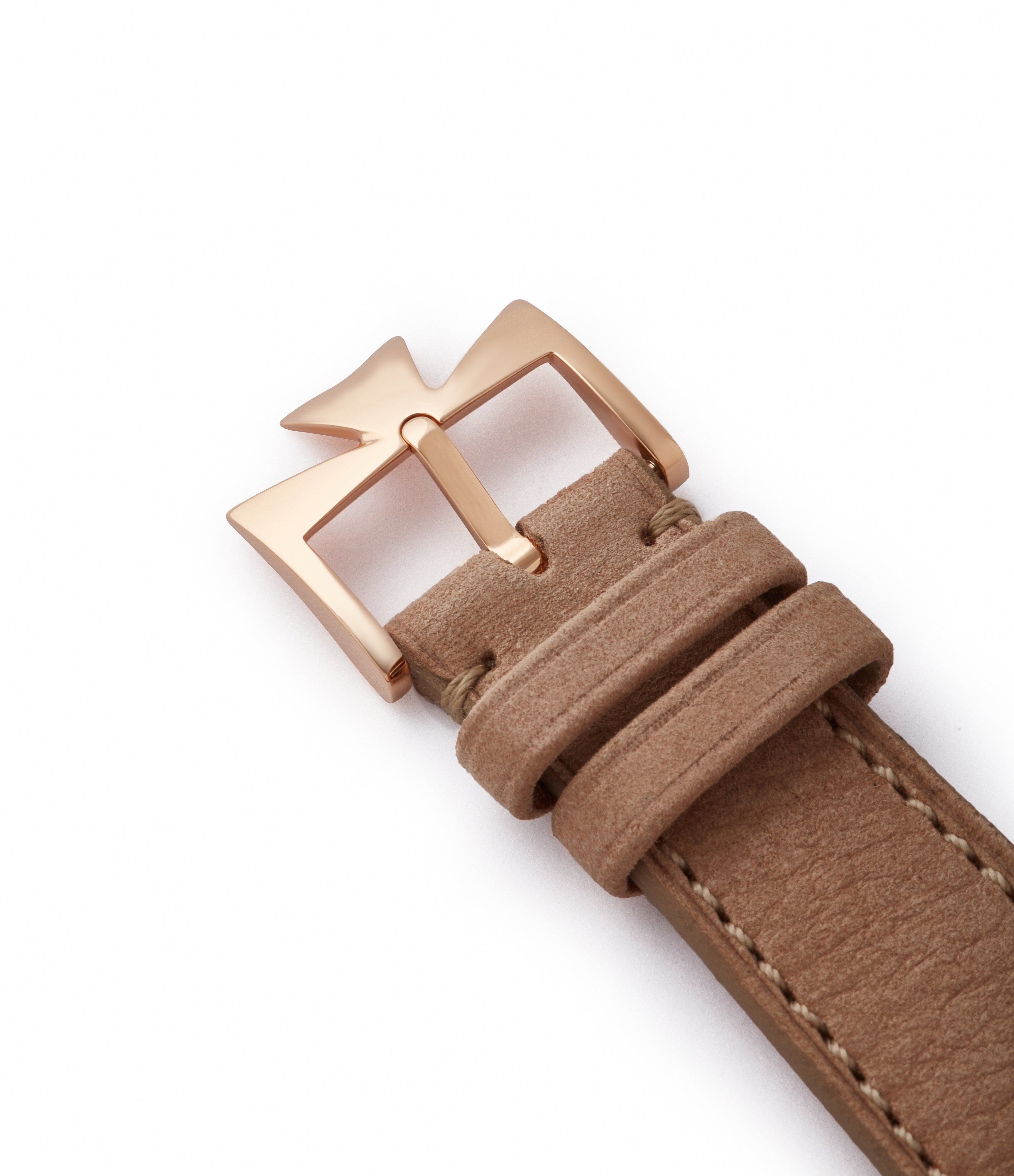 rose gold 18mm tang buckle Vacheron Constantin Historiques Chronometre Royal 1907 86122/000R-9362 rose gold time-only dress watch for sale online at A Collected Man London