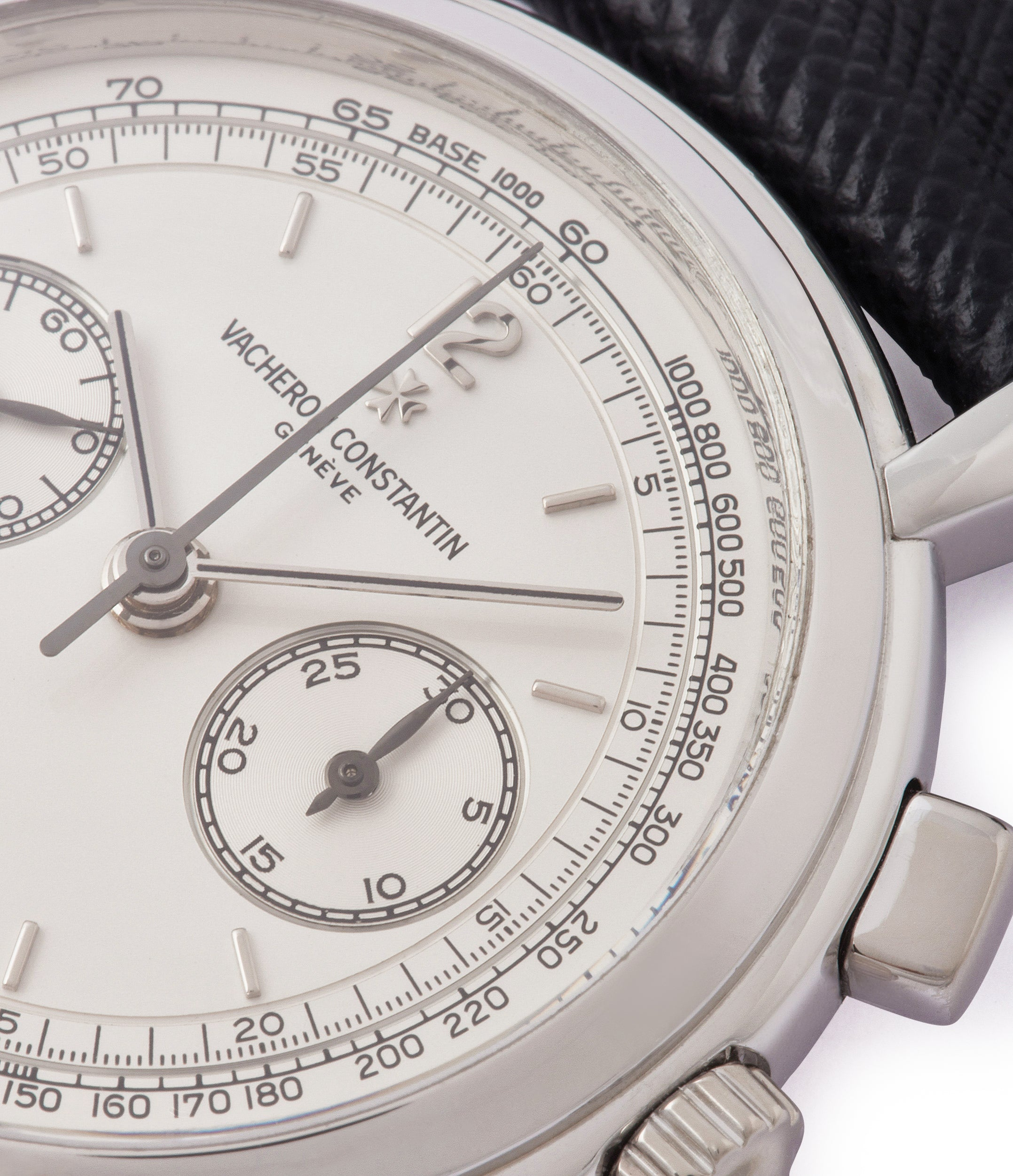silver dial Vacheron Constantin Chronograph Les Historique 47101/1  manual-winding luxury dress watch for sale online at A Collected Man London UK specialist of rare watches