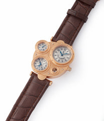 shop Vianney Halter Antiqua Perpetual Calendar rose gold Cal. VH198 independent watchmaker for sale online at A Collected Man London UK specialist of rare watches
