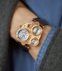 rare Vianney Halter Antiqua Perpetual Calendar rose gold Cal. VH198 independent watchmaker for sale online at A Collected Man London UK specialist of rare watches
