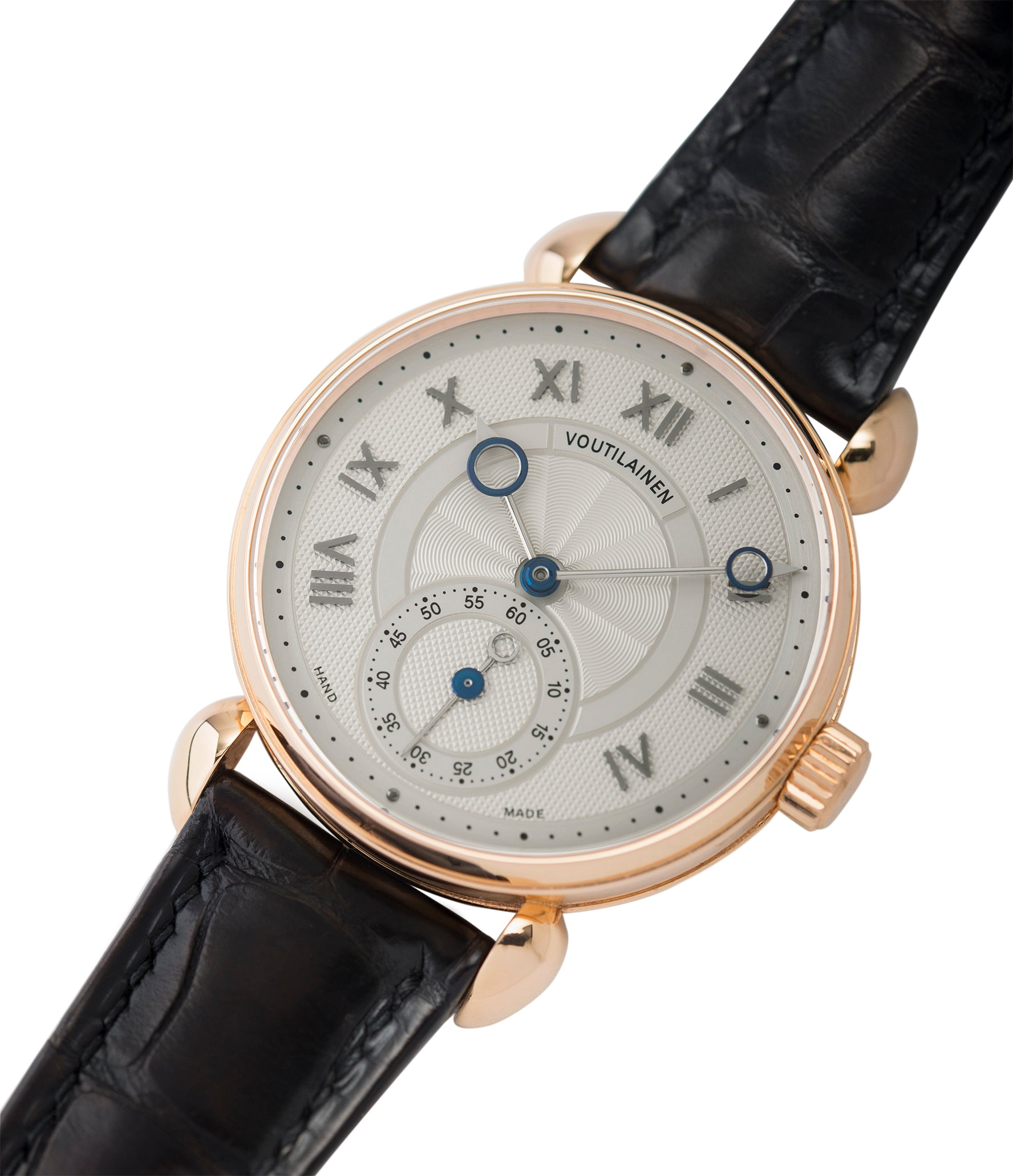 for sale Voutilainen Observatoire Limited Edition rose gold rare dress watch for sale online at A Collected Man London endorsed seller of independent watchmaker