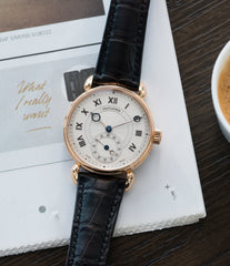 for sale Kari Voutilainen Observatoire Limited Edition rose gold rare dress watch for sale online at A Collected Man London endorsed seller of independent watchmaker