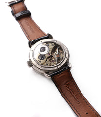 Cal. 28 Voutilainen Vingt-8 manual-winding movement watch for sale online at a Collected Man online specialist platform for independent watchmakers