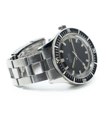 for sale vintage sports watch Zenith A3630 divers sub-sea steel online at A Collected Man