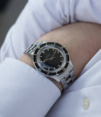 on the wrist Zenith A3630 divers rare watch at A Collected Man