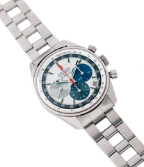 selling vintage Zenith A386 El Primero 3019 PHC automatic rare steel sport watch full set