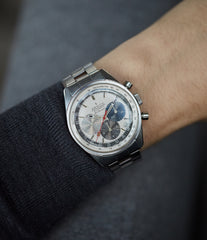 cool vintage Zenith for sale El Primero A386 3019 PHC automatic buy rare vintage steel sport watch full set