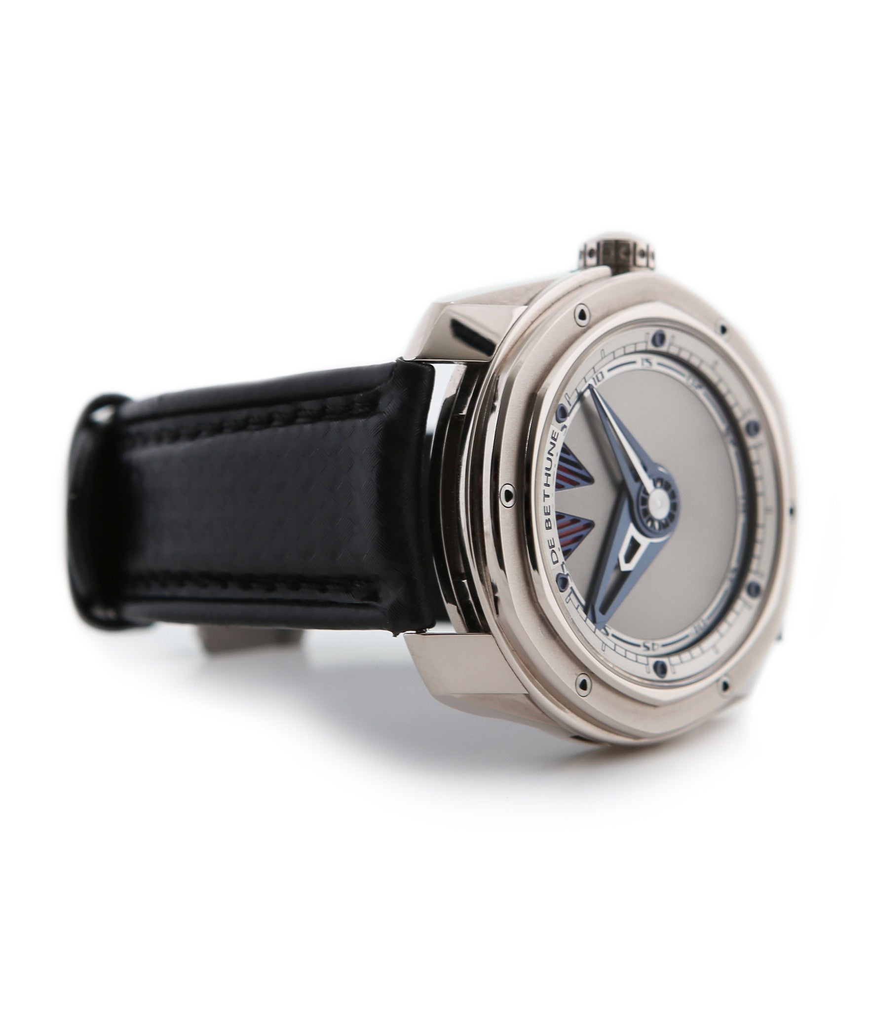 buy De Bethune DB22 power pre-owned watch online in white gold with power reserve from Swiss independent watchmaker  with authenticity guaranteed