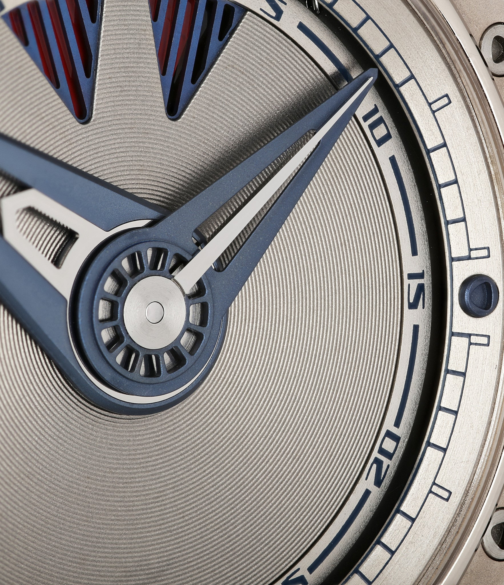 buy De Bethune DB22 power pre-owned watch online in white gold with power reserve and guilloche dial from Swiss independent watchmaker  with authenticity guaranteed