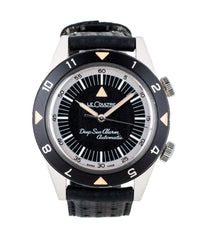 buy Jaeger-LeCoultre Memovox Tribute to Deep Sea American Edition Q2028440 steel pre-owned diving watch full set for sale at WATCH XCHANGE London with authenticity guaranteed