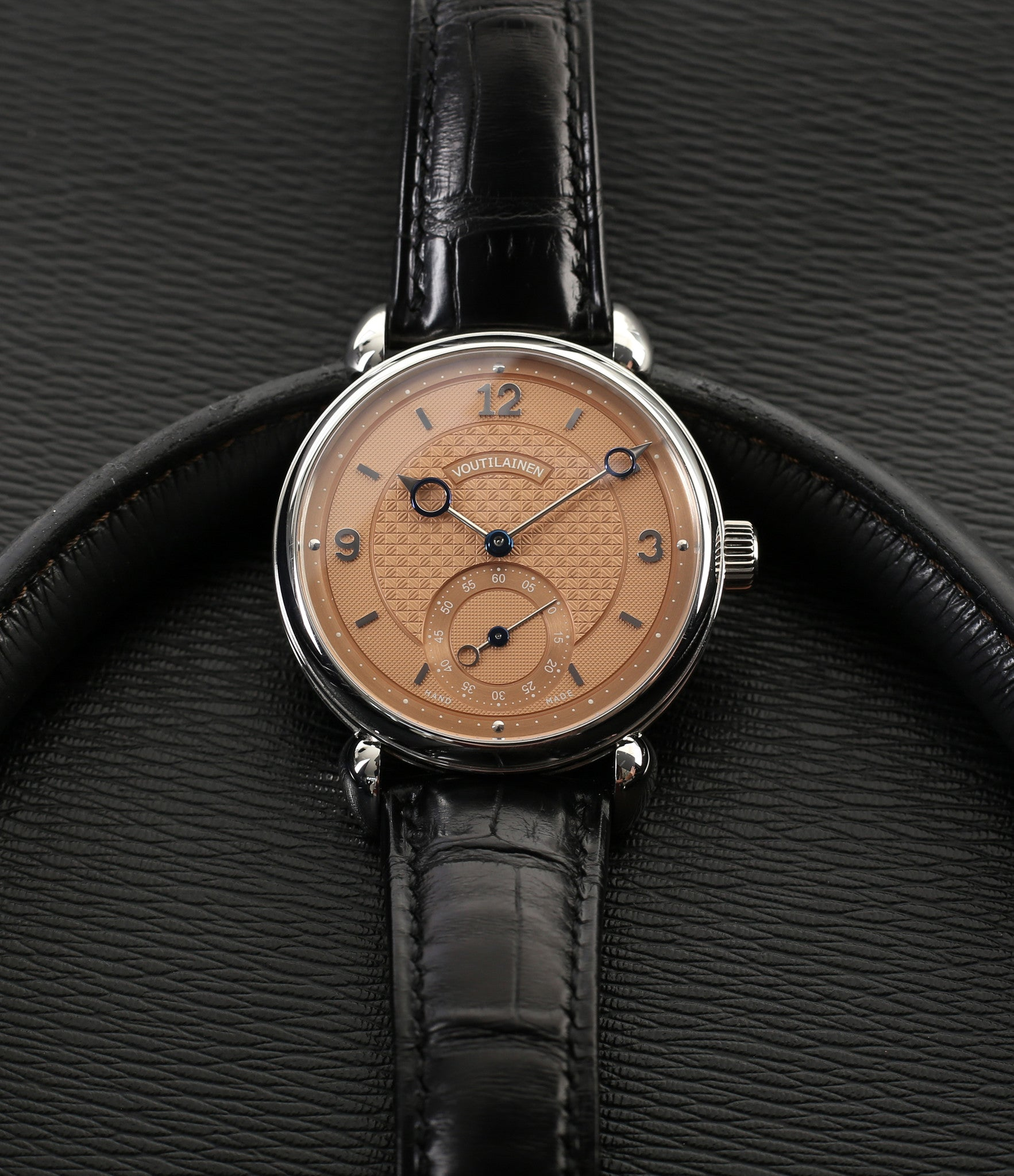 buy Kari Voutilainen Prototype Vingt-8 unique piece rare time-only dress watch with Besancon Observatory certificate from independent watchmake for sale online WATCH XCHNAGE London