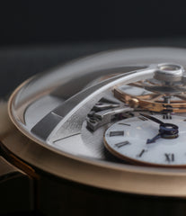buy MB&F Voutilainen& Mojon collaboartion Legacy Machine No. 1 rose gold time-only rare traveller watch from independent watchmaker for sale online at WATCH XCHANGE London