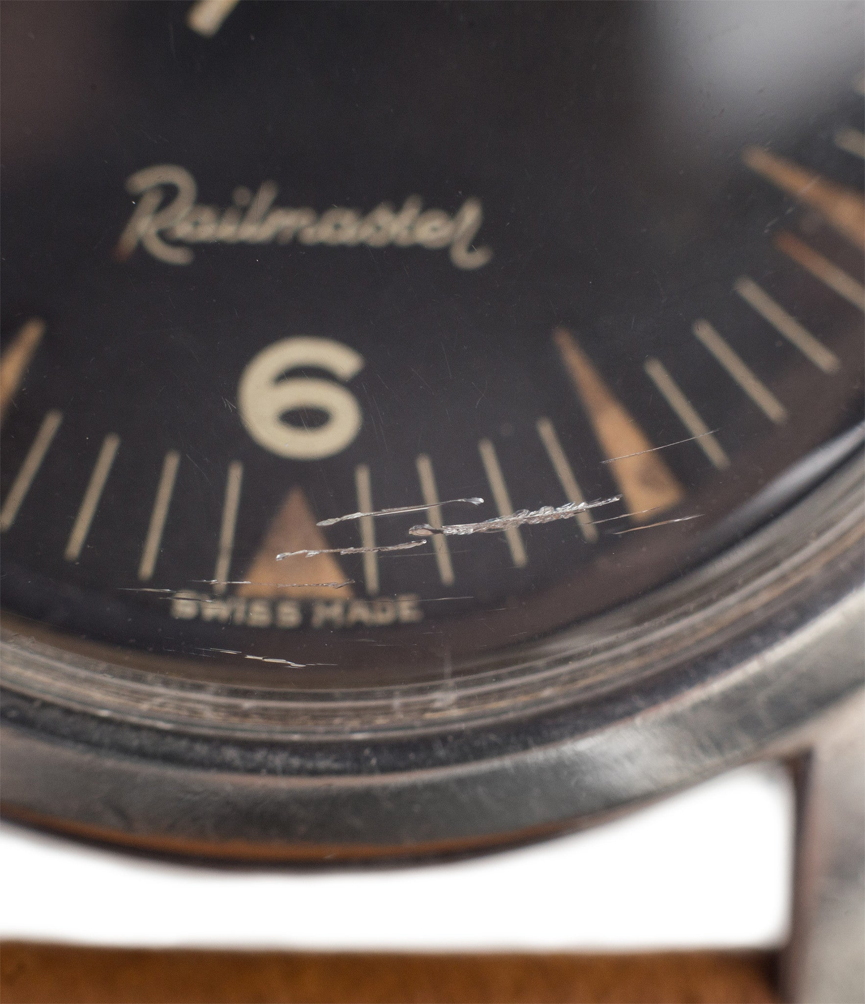 buy Omega Railmaster CK 2914 vintage watch black dial broad-arrow hands for sale
