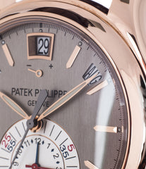 buy Patek Philippe 5960R-001 rose gold Complications Annual Calendar Chronograph discontinued rare dress full set watch with authenticity guaranteed for sale online at WATCH XCHANGE London