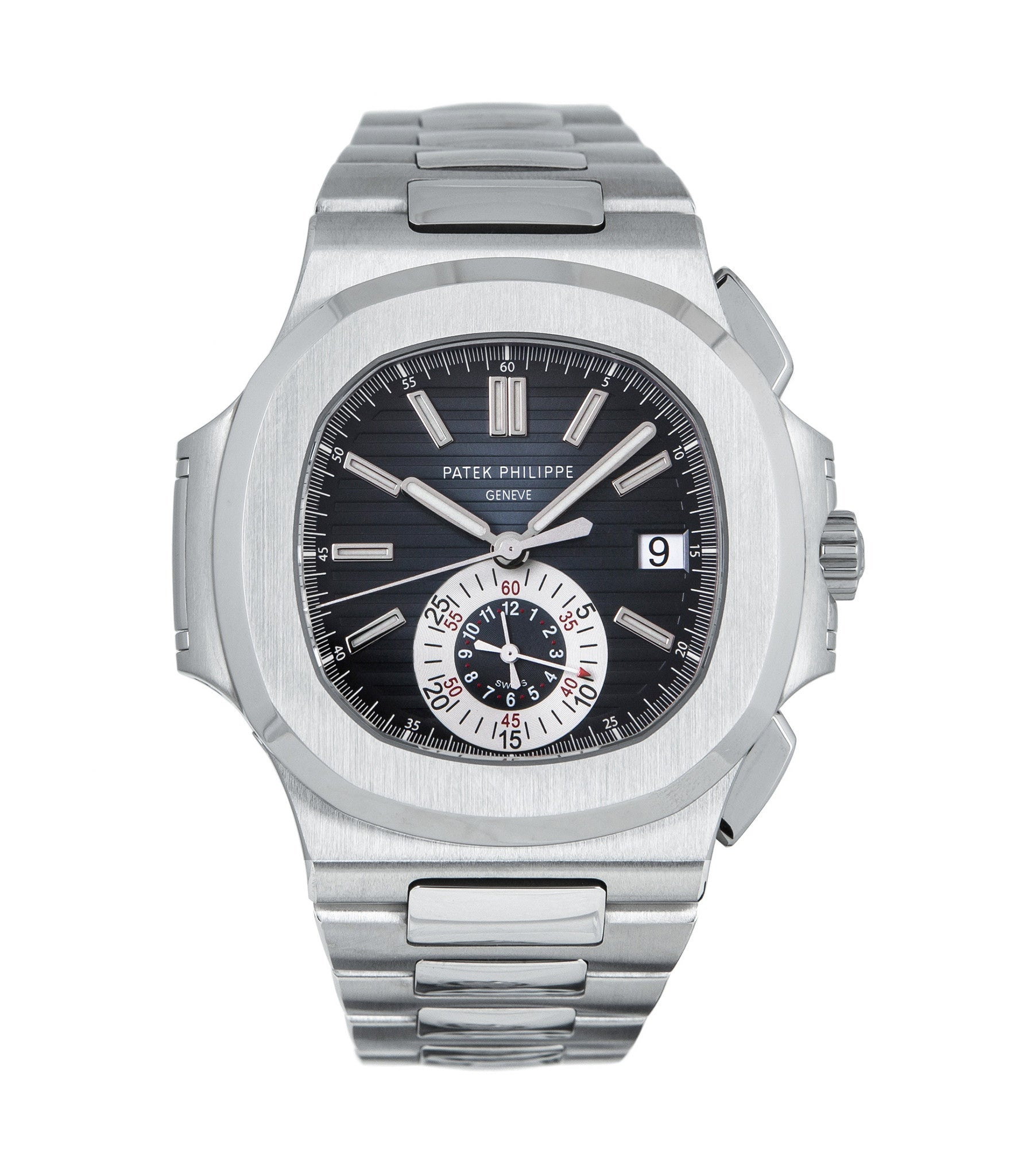 buy Patek Philippe Chronograph Nautilus 5980A discontinued rare steel watch online pre-owned from WATCH XCHANGE London for sale