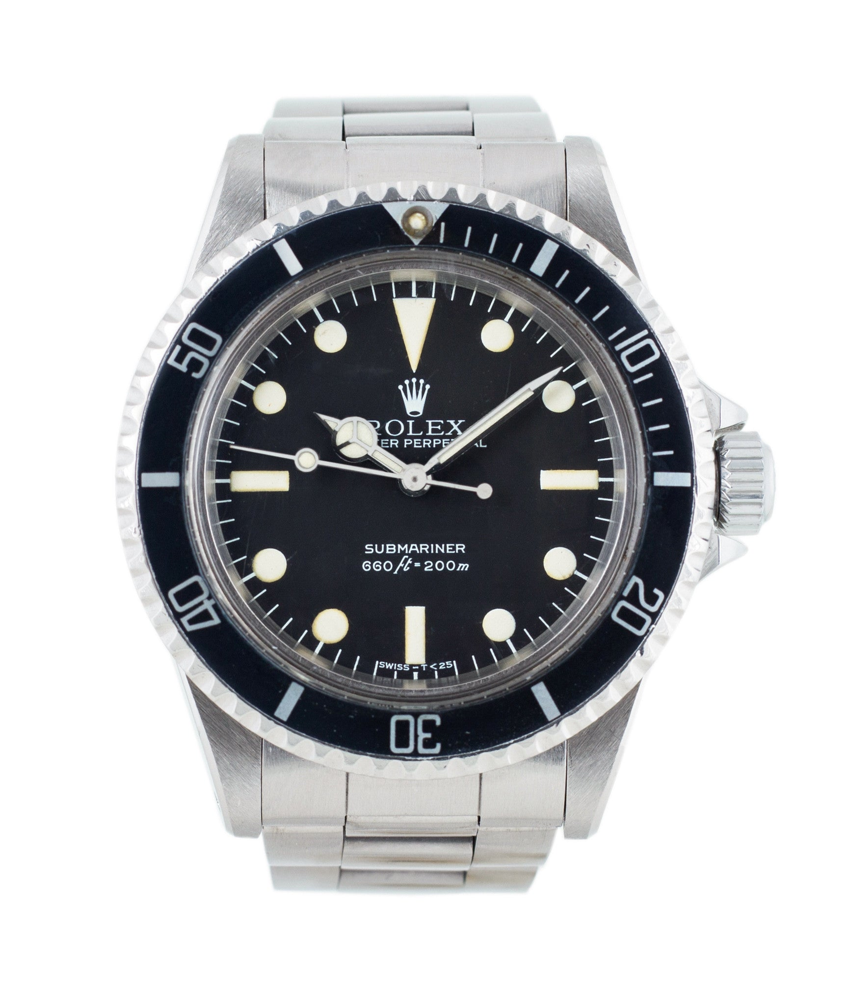 d7575e15dca buy Rolex Submariner 5513 0 Maxi Mark III dial steel vintage dateless watch  with box