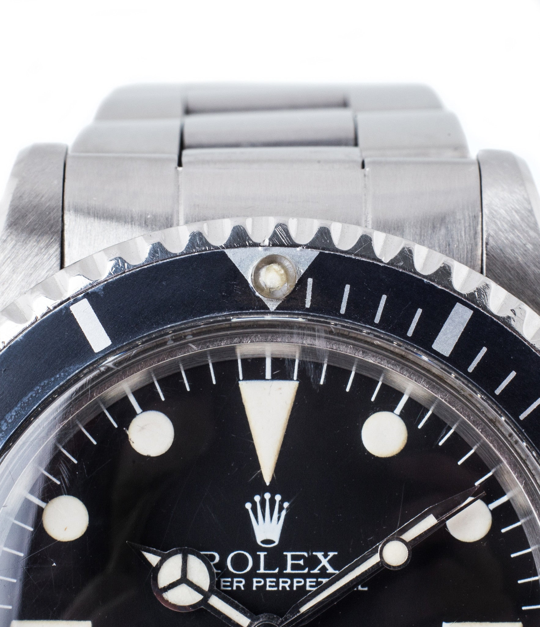 buy Rolex Submariner 5513/0 Maxi Mark III dial steel vintage dateless watch with box and papers for sale online WATCH XCHANGE London with authenticity guaranteed