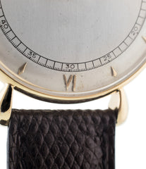 buy vintage Vacheron Constantin Cal. 454 tear drop lugs time-only dress watch two-tone Art Deco dial and extracts for sale online at WATCH XCHANGE London