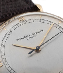 buy vintage Vacheron Constantin Cal. 454 time-only dress watch two-tone Art Deco dial and extracts for sale online at WATCH XCHANGE London