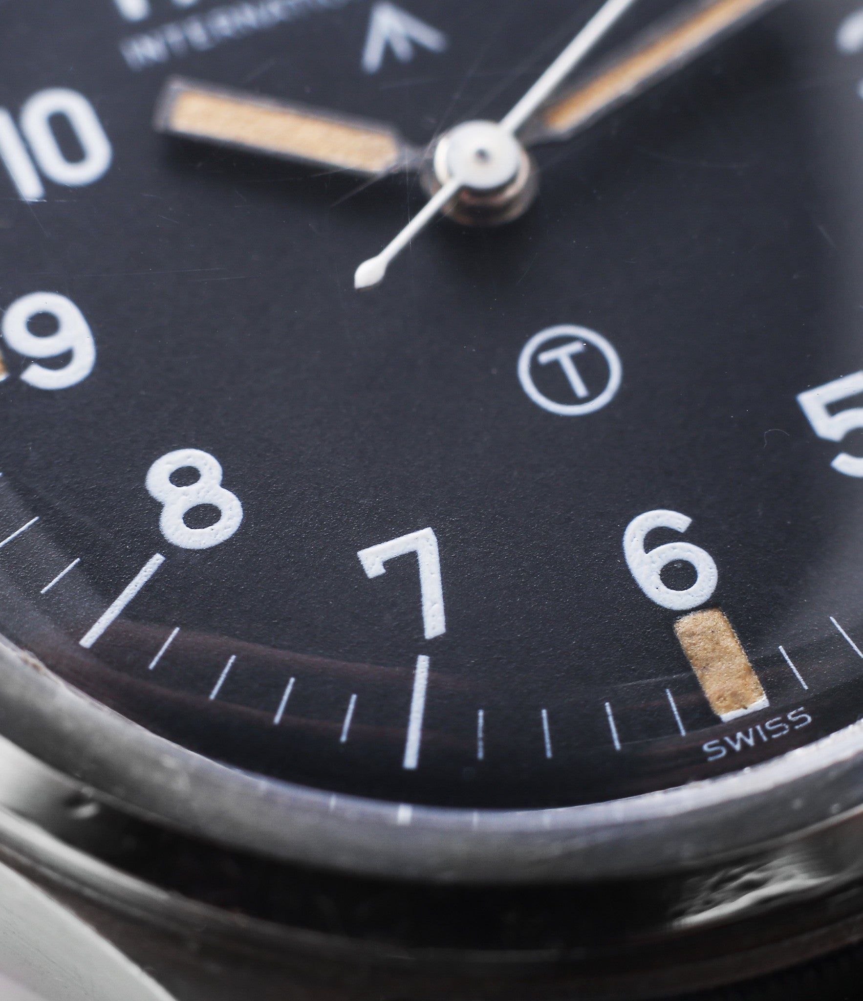 buy military IWC Mark XI 6B/346 steel black dial vintage watch at WATCH XCHANGE London for sale online