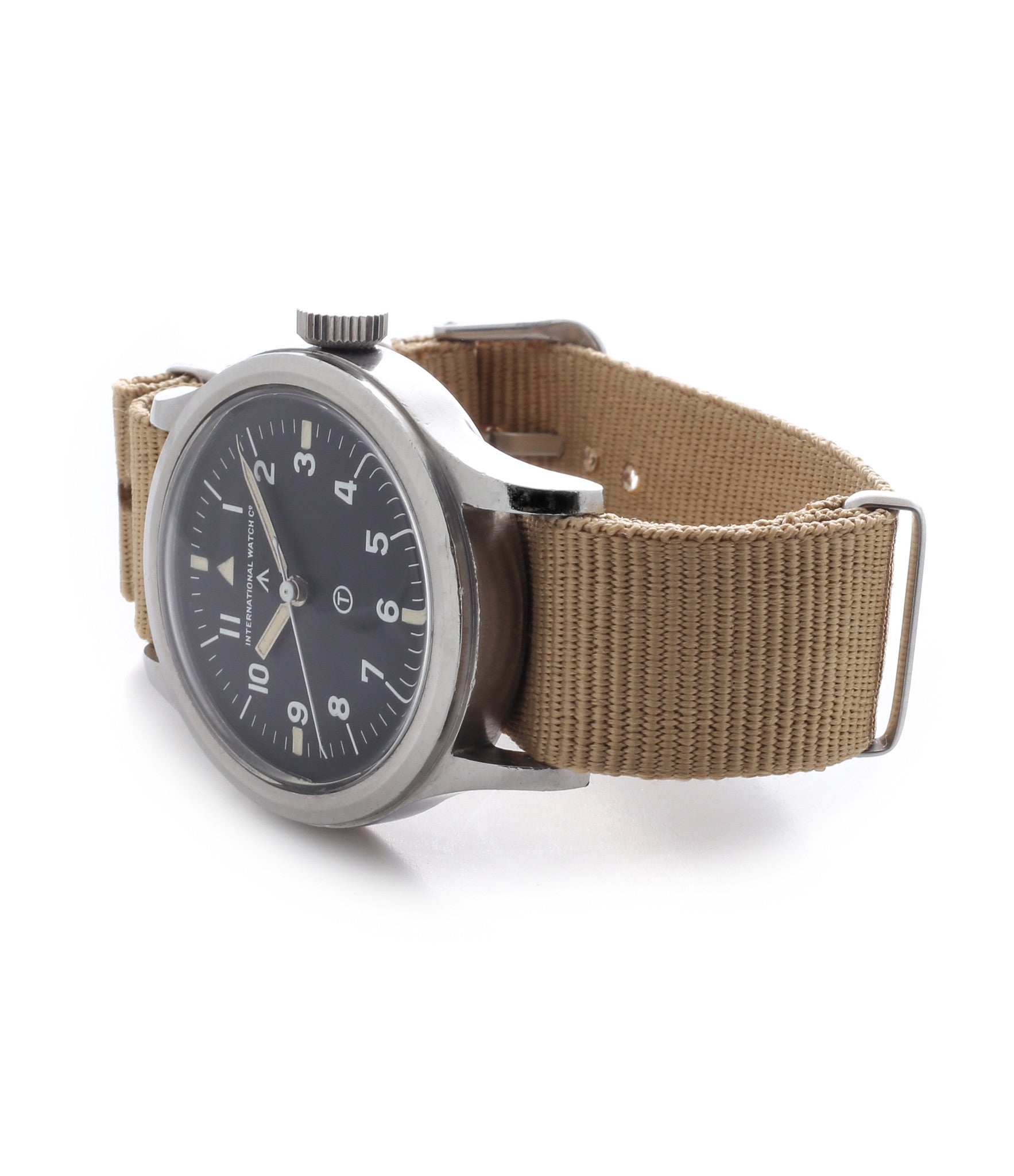 buy IWC Mark XI 6B/346 British RAF military pilot watch Cal. 89 manual-winding movement unrestored hooked 7 dial for sale online WATCH XCHANGE London with authenticity guaranteed