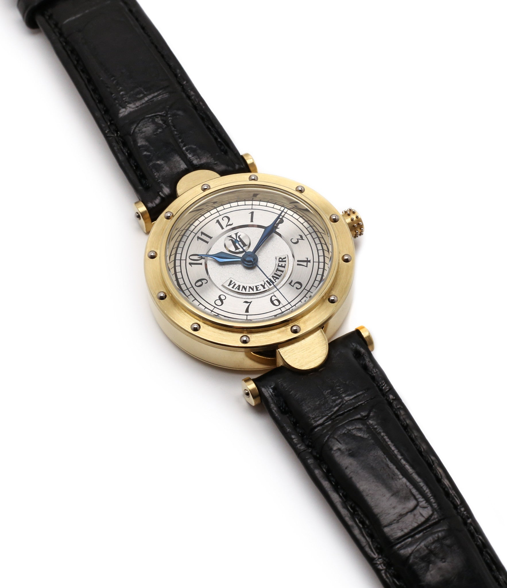 buy Vianney Halter Classic yellow gold time-only dress watch at A Collected Man the approve seller of independent watchmakers