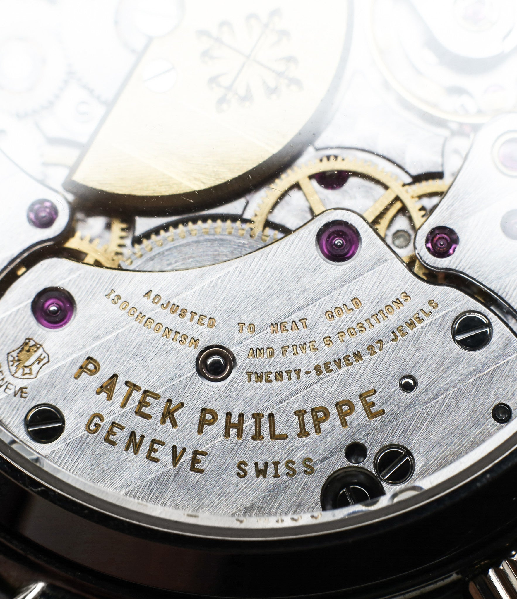 bridge Genevian stripes buy rare Patek Philippe Perpetual Calendar 3940G moonphase white gold watch full set at A Collected Man