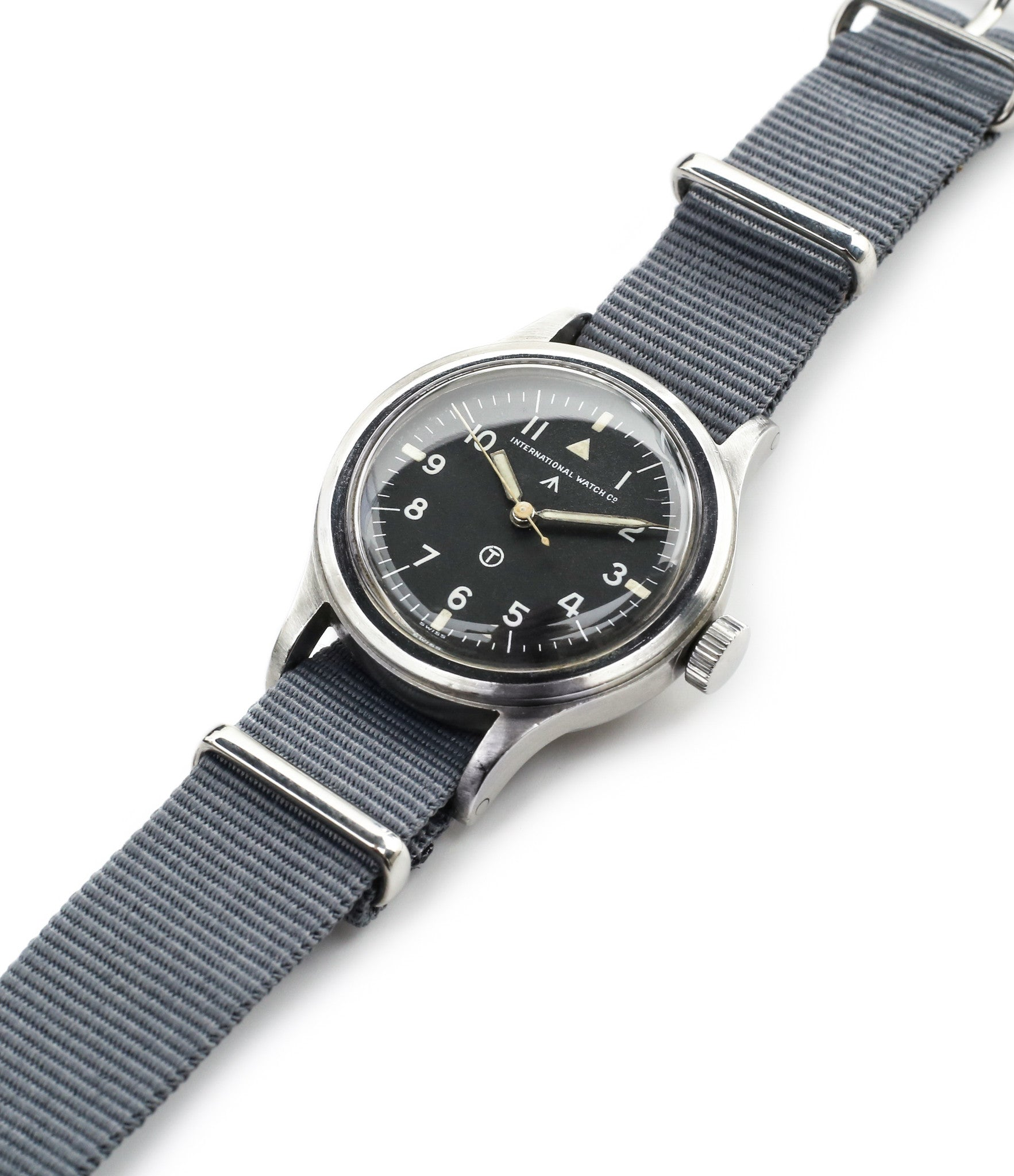 buy vintage IWC Mark XI RAF-issued British military pilot watch 6B/346 steel Cal. 89 manual-winding at WATCH XCHANGE London