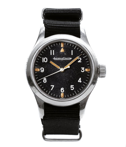 buy Jaeger-LeCoultre Mark 11 RAAF Australian Air Force vintage military pilot watch G6B/346 watch for sale online at A Collected Man London vintage military watch specialist