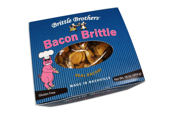 Bacon Meets Brittle... the Best Thing Since Chocolate Met Peanut Butter