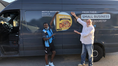 Brittle Brothers on Amazon Delivery Vans