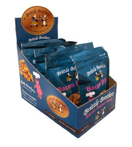 Brittle Brothers Bacon Peanut Brittle Shipper - 10 Bags!